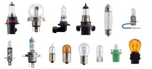 Imagen para la categoría LAMPARAS/LAMPARITAS COMUNES Y HALOGENAS AUTOMOTRIZ