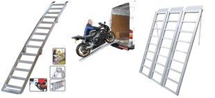 Imagen para la categoría RAMPAS PARA MOTO/CUATRICICLO