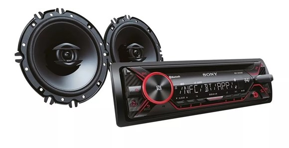 Imagen de RADIO SONY N4150BT USB/DISCO/BLUETOOTH + 2 PARLANTES 16CM