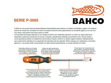 Imagen de DESTORNILLADOR PLANO CONICO BAHCO 4X125MM