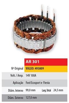 Imagen de ESTATOR 12V 100AMP FORD ECOSPORT/FIESTA (99X127X24.5) VALEO