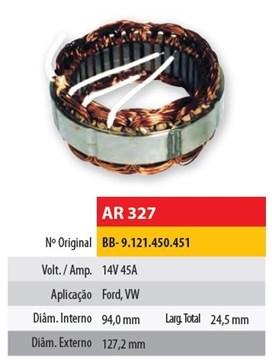 Imagen de ESTATOR 12V 45AMP FORD/VOLKSWAGEN WAPSA (94X127,2X24,5)