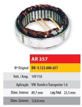 Imagen de ESTATOR 12V 51AMP VOLKSWAGEN FUSCA/KOMBI (89,7X124,8X23,5)