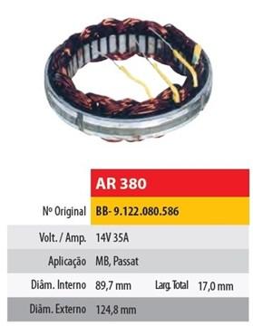 Imagen de ESTATOR 12V 35AMP MERCEDES BENZ (89,7X124,8X17)