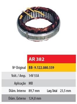 Imagen de ESTATOR 12V 55AMP MERCEDES BENZ (89,7X124,8X23,5)