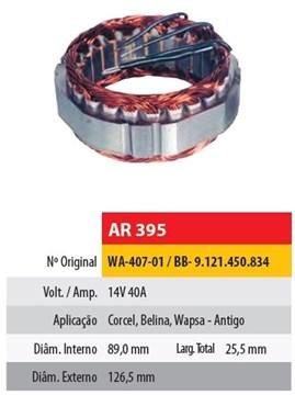 Imagen de ESTATOR 12V 40AMP FORD CORCEL/BELINA WAPSA (89X126,5X25,5)