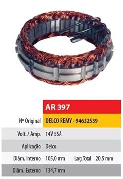 Imagen de ESTATOR 12V 55AMP DELCO REMY (94632539) (105X134,7X20,5)