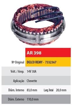 Imagen de ESTATOR 12V 30AMP DELCO CHEVROLET CHEVETTE (83X110X20)