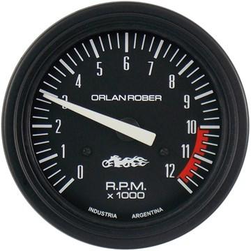 Imagen de TACOMETRO PARA MOTO 12V ESCALA:  0-12000 RPM DIAM:80MM
