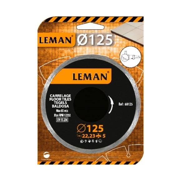 Imagen de DISCO DIAMANTADO CONTINUO LEMAN 115X5X2,0X22,23MM