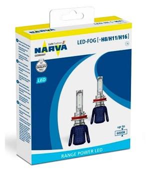 Imagen de JUEGO 2 LAMPARAS LED NIEBLA H8/H11/H16 12V 16W PGJ19-1/2/3