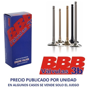 Imagen de VALVULA ADMISION BEDFORD 220/330 CABEZA GRUESA