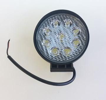 Imagen de FARO CAMINERO AUXILIAR LED REDONDO 110MM 9 LEDS 27W 12/24V