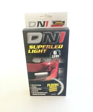 Imagen de PAR DE LUZ LED 6 LEDS 12V (PARA LUZ DE DIA/LUZ TRASERA)