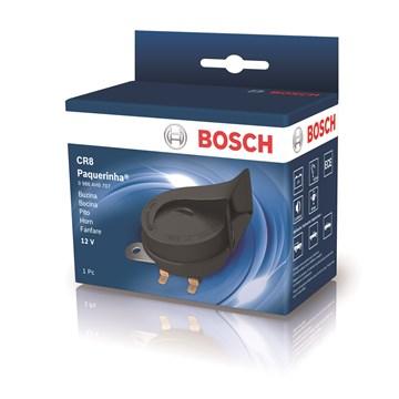 Imagen de BOCINA DOBLE CARACOL BOSCH 12V TONO ALTO/BAJO 410/510HZ