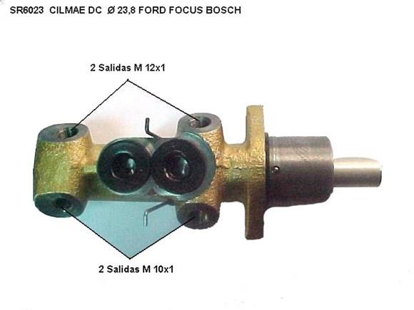 Imagen de BOMBA DE FRENO FORD FOCUS 2001.. 2015-16 23.8 MM BOSCH